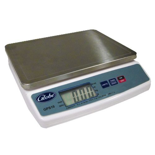Globe GPS10-16 10 lb. Digital Portion Control Scale - Four 4-Packs