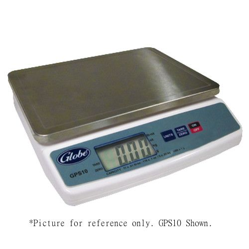 Globe GPS5-8 5 lb. Portion Control Scale with Ingredient Bowl - Two 4-Packs