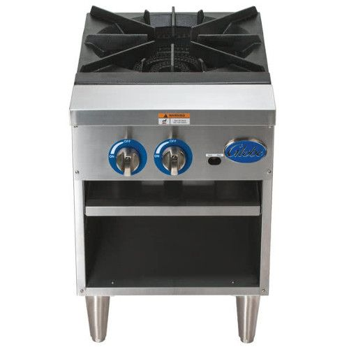 Globe GSP18G Gas Stock Pot Range - 90,000 - 100,000 BTU