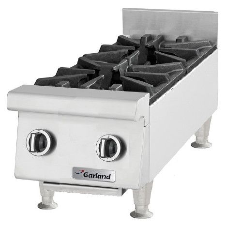 Garland GTOG12-2 Heavy-Duty Countertop Gas Hotplate - 60,000 BTU
