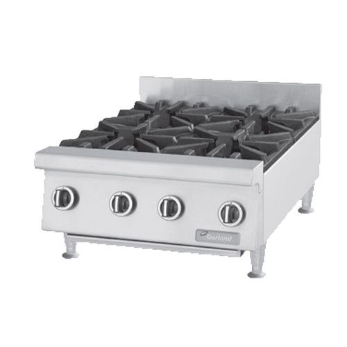 US Range UTOG24-4 Heavy-Duty Countertop Gas Hotplate - 120,000 BTU
