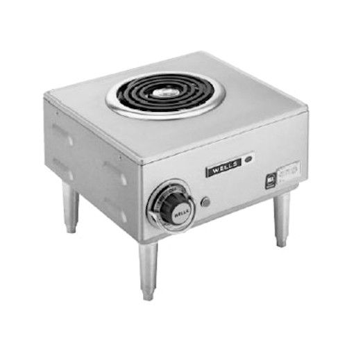 Wells H-33 Electric Single Burner Countertop 12.63
