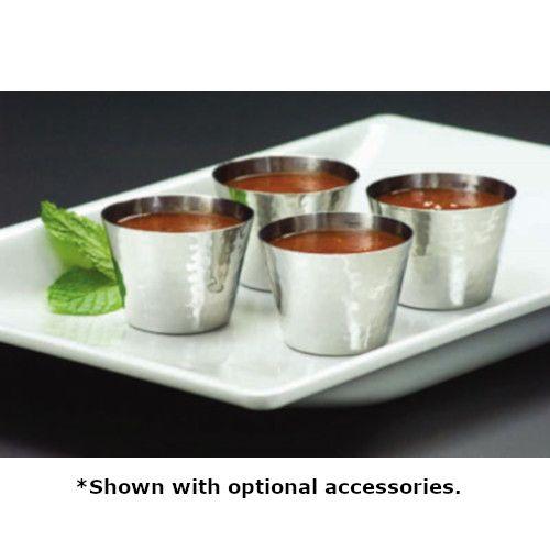 American Metalcraft HAMSC Metal Ramekin / Sauce Cups (Case of 144 Sauce Cups)