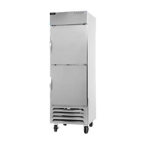 Beverage Air HBF27HC-1-HS Half Solid Single Section Reach-In Freezer (Replaces HBF27-1-HS)
