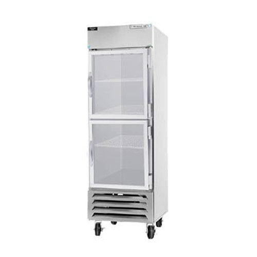 Beverage Air HBF23HC-1-HG Half Glass Single Section Reach-In Freezer