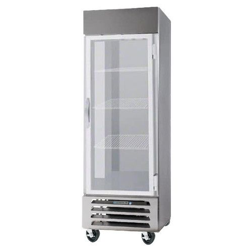 Beverage Air HBF27HC-1-G Glass Door Single Section Reach-In Freezer
