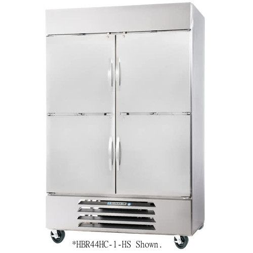 Beverage Air HBR49-1-HS Half Solid Two Section Reach-In Refrigerator (Replaces HBR49-1-HS)