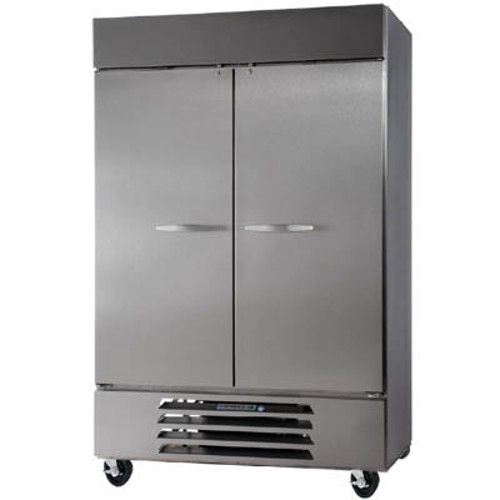 Beverage Air HBRF49HC-1 Solid Door Two Section Reach-In Refrigerator Freezer