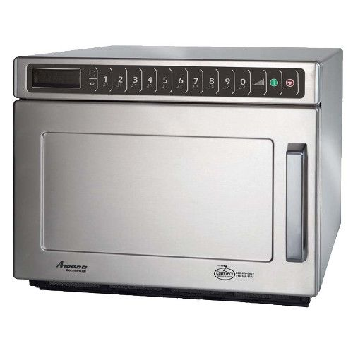 Amana HDC18SD2 Countertop Commercial Heavy Volume Microwave Oven