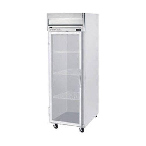 Beverage Air HF1HC-1G Glass Door Single Section Reach-In Freezer
