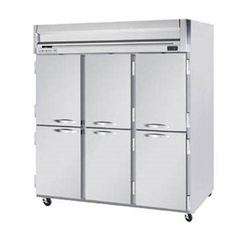 Beverage Air HFP3HC-5HS Half Solid Three Section Reach-In Freezer (Replaces HFP3-5HS)