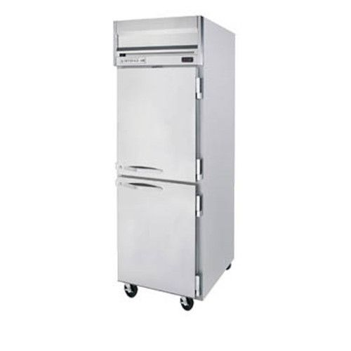 Beverage Air HFS1HC-1HS Half Solid Single Section Reach-In Freezer