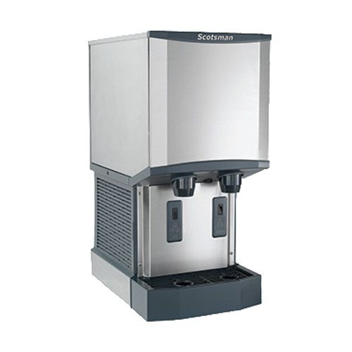 Scotsman HID312A-1 Meridian Air-Cooled 260-lb Production Ice Machine and Water Dispenser