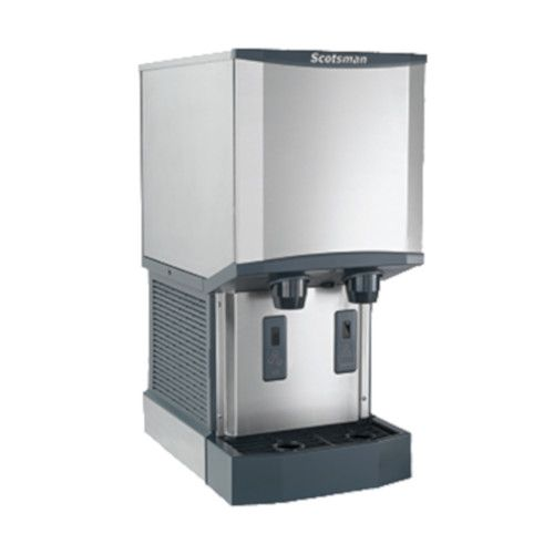 Scotsman HID312A-6 Air Cooled Meridian Ice and Water Dispenser with Touchfree IR Dispensing - 260 lb.