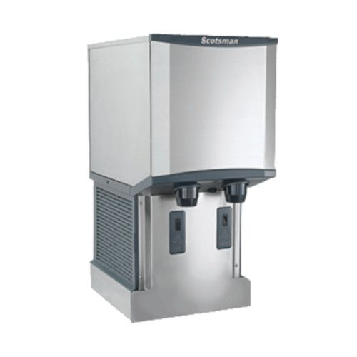 Scotsman HID312AW-1 Wall-Mounted Air-Cooled Meridian Ice and Water Dispenser - 260 lb.