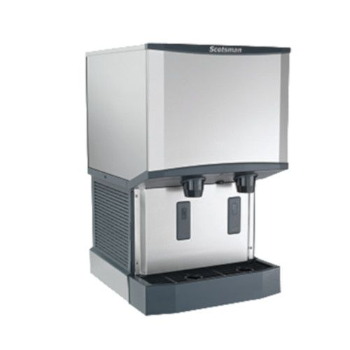 Scotsman HID525W-1 Water-Cooled Meridian Ice and Water Dispenser - 500 lb.