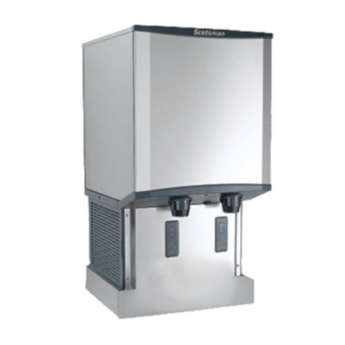 Scotsman HID540AW-1 Wall Mount Air-Cooled Meridian Ice and Water Dispenser - 500 lb.