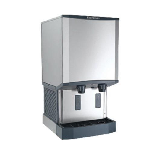 Scotsman HID540W-1 Water-Cooled Meridian Ice and Water Dispenser - 500 lb.