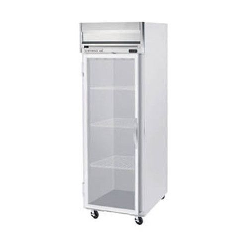 Beverage Air HR1HC-1G Glass Door Single Section Reach-In Refrigerator (Replaces HR1-1G)