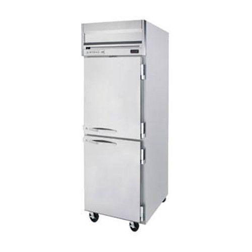 Beverage Air HR1HC-1HS Half Solid Single Section Reach-In Refrigerator