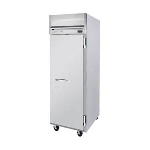Beverage Air HR1HC-1S Solid Door Single Section Reach-In Refrigerator