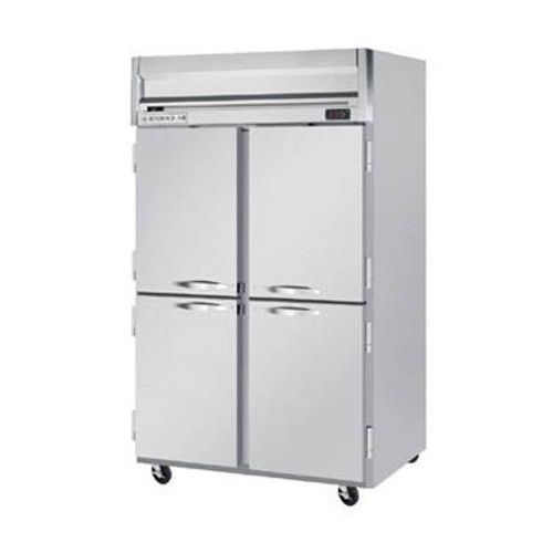 Beverage Air HR2HC-1HS Half Solid Two Section Reach-In Refrigerator (Replaces HR2-1HS)