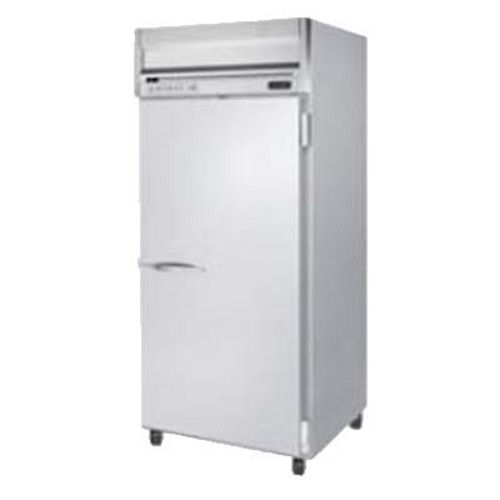 Beverage Air HRPS1WHC-1S Wide Solid Door Single Section Reach-In Refrigerator (Replaces HRPS1W-1S)