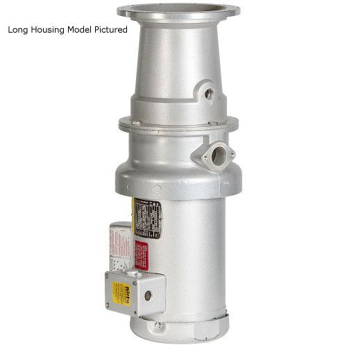 Hobart FD4/125-LONG-1PH Food Waste Disposal with Long Housing