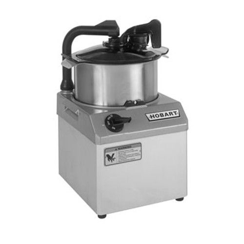 Hobart HCM61-1 Food Processor with 6-Quart Stainless Steel Bowl