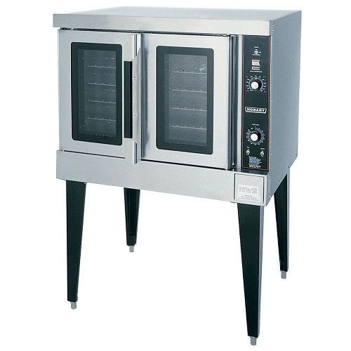 Hobart HGC502-NATURAL Gas Double Deck Convection Oven