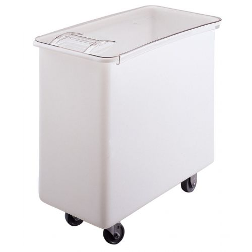 Cambro IB36148 34 Gallon Capacity Ingredient Bin (White With Clear Cover)