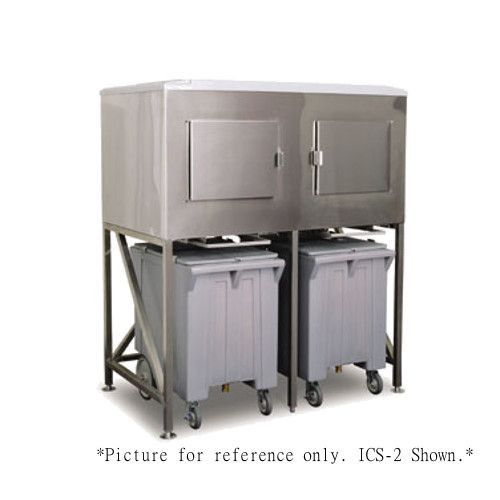 Scotsman ICS-3-SL Ice Express System with Stainless Steel Liner - 2900 lb.