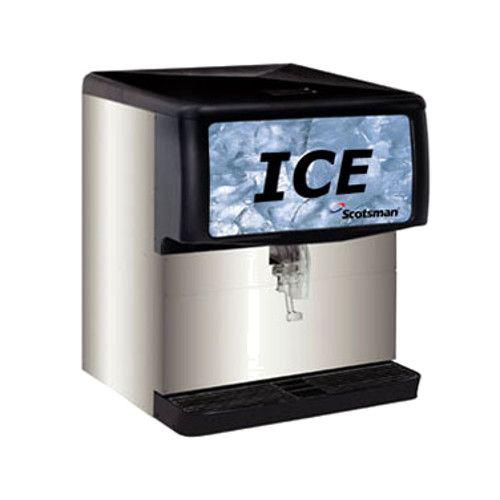 Scotsman ID200B-1 Ice-Only 200-lb Capacity Countertop Ice Dispenser
