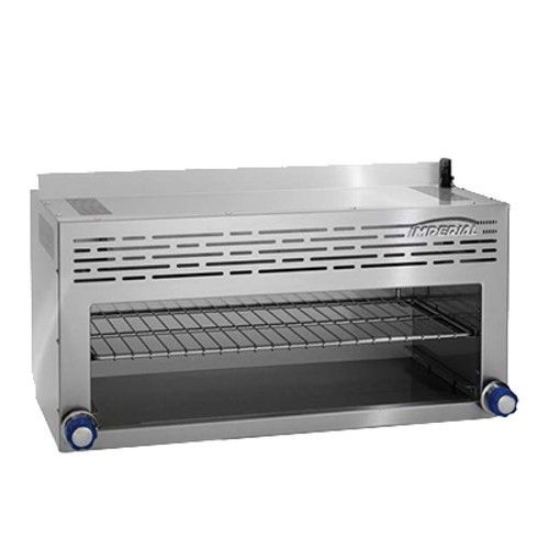 Imperial ICMA-36 Gas Restaurant Range Match Cheesemetler