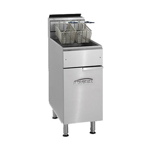 Imperial IFS-40 Full Pot Gas Fryer with 40 lb. Capacity