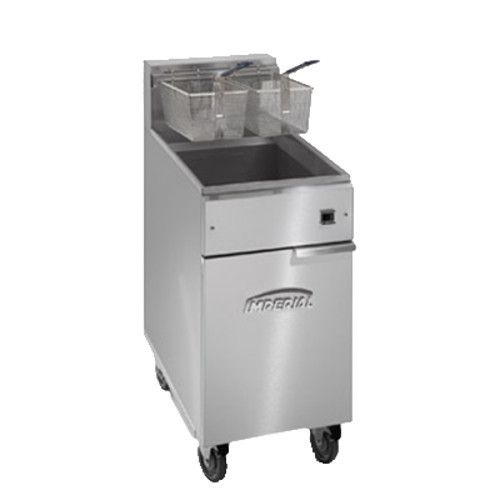 Imperial IFS-50-E Full Pot Fryer with Electrical Elements - 50 lb. Capacity