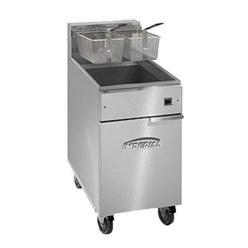 Imperial IFS-75-E Full Pot Fryer with Electrical Elements - 75 lb. Capacity