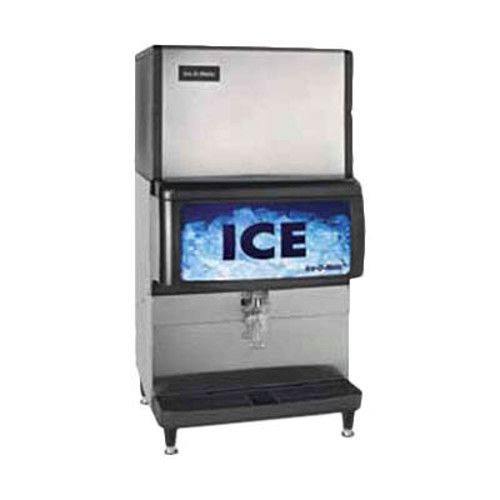 Ice-O-Matic IOD200 200lb Storage Capacity Ice Dispenser And Bin