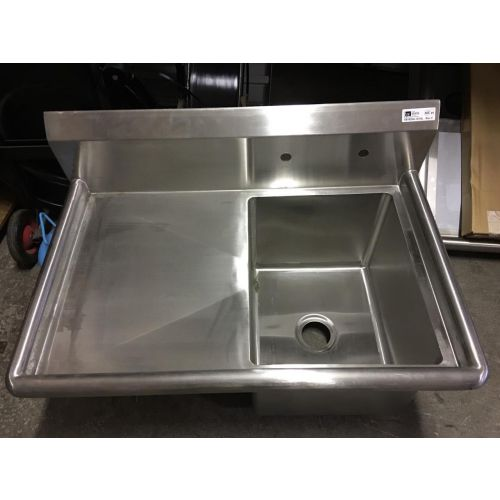 Open Box John Boos 1B16204-1D18L Single Compartment Sink w/ 18