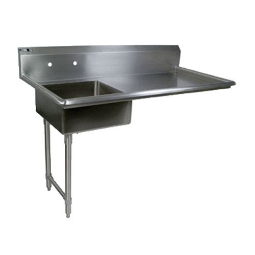 John Boos JDTS-20-50UCL Soiled Straight Undercounter Dishtable