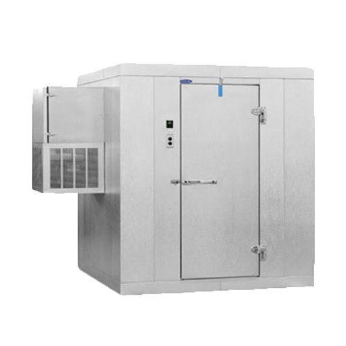 Nor-Lake KLF610-W 6' x 10' Indoor -10°F Freezer w/ Floor 6'7