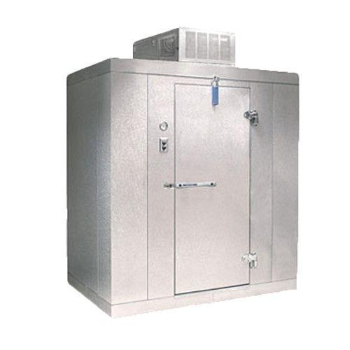 Nor-Lake KLB7446-C 4' x 6' Indoor Cooler Floorless 7'4