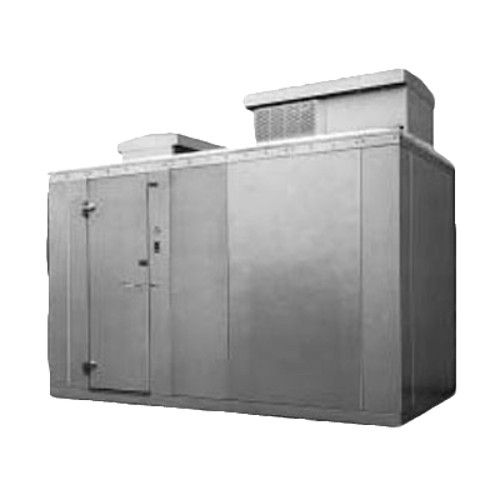 Nor-Lake KODF46-C 4' x 6' Outdoor -10°F Freezer w/ Floor 6'7