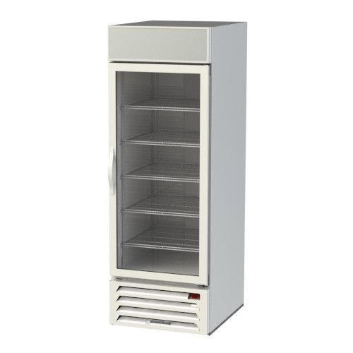 Beverage Air MMF23HC-1-W Reach-In 1 Section MarketMax Freezer Merchandiser