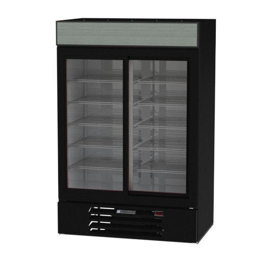 Beverage Air MMR45HC-1-B Reach-In MarketMax Refrigerated Merchandiser