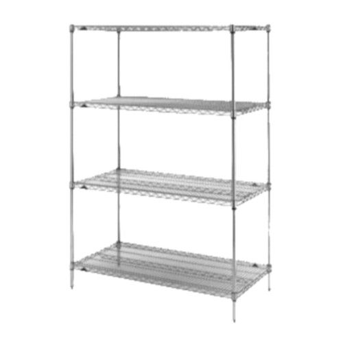 Metro 5A437C Super Erecta© Starter Wire Shelving Unit 36X21X74