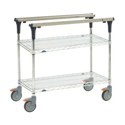 Metro MS1824-BRBR PrepMate® 18X24 Multistation Mobile Prep Cart