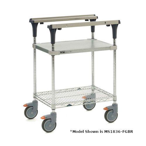 Metro MS1836-FGBR-PK1 PrepMate® 18X36 Multistation Mobile Prep Cart