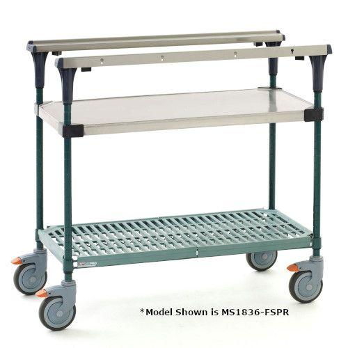 Metro MS1836-FSPR-PK1 PrepMate® 18X36 Multistation Mobile Prep Cart