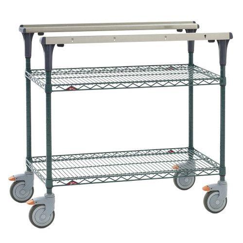 Metro MS1836-NKNK PrepMate® 18X36 Multistation Mobile Prep Cart
